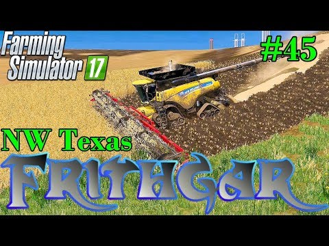 Let's Play Farming Simulator 2017, North West Texas #45: Trying Something Bigger!