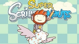 Super Scribblenauts DS Gameplay - Tutorial - Constellation 1, Stars 1 - 11