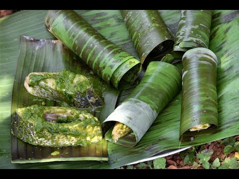 Steamed Fish In Banana Leaves | Healthy Fish Recipe