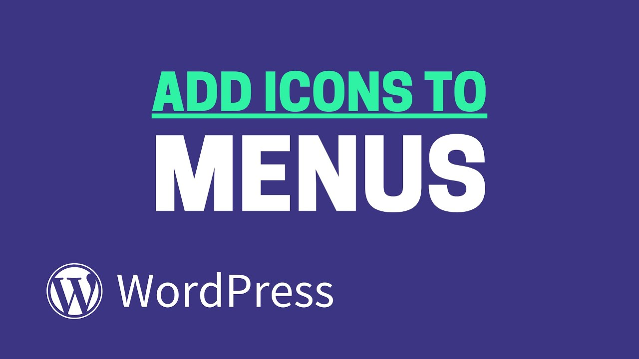 How to Add Icons to WordPress Menus (The Fast Way!)