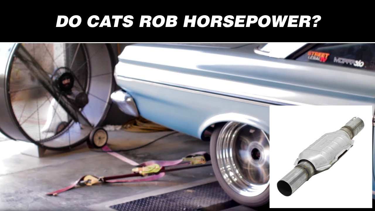 small resolution of do catalytic converters cats rob horsepower