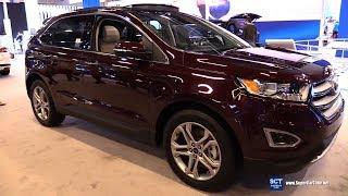 2018 Ford Edge Titanium - Exterior and Interior Walkaround - 2018 Montreal Auto Show