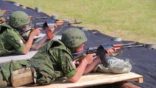 Слушатели факультета военного обучения ЮУрГУ отрабатывают теоретические знания на практике
