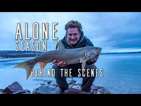 Lake Trout Fishing In The Northwest Territories - ALONE Season 7 Behind The Scenes Exclusive