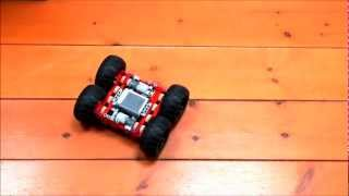 Small 4WD from lego technic 9398 parts