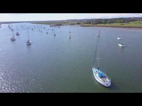 River Crouch in Essex - Fambridge Yacht Haven