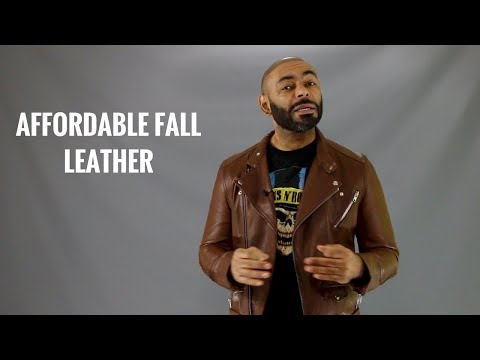 Top 8 Best Affordable Men's Leather Jackets/Best Cheap Fall Men's Leather Jackets