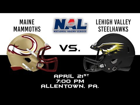 Maine Mammoths vs Lehigh Valley Steelhawks