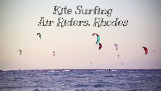 Kitesurfing AirRiders in Rhodes Greece 2014