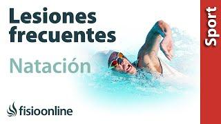 Lesiones más típicas o frecuentes en la natación y nadadores