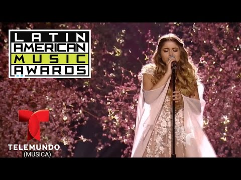 """Sofía Reyes canta """"Solo Yo"""" en los Latin American  Awards   LAMAS  Entretenimiento"""