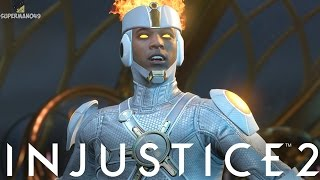 """MY FIRST EVER ONLINE RANKED MATCH! - Injustice 2 """"Firestorm"""" Gameplay"""