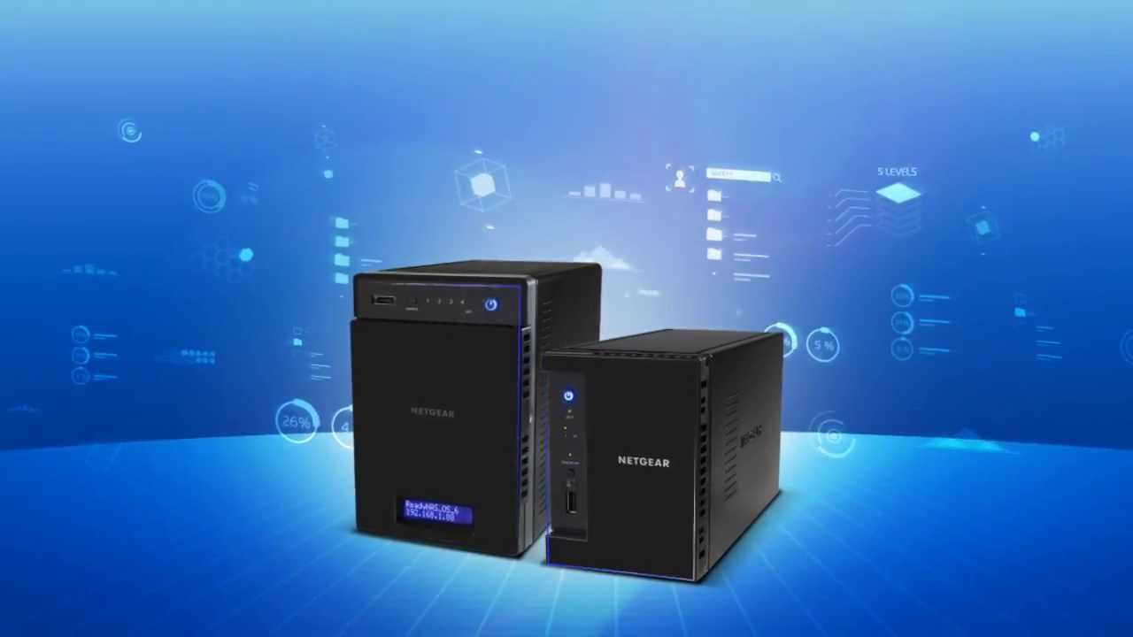 NETGEAR ReadyNAS 212/214 Network Attached Storage Product Tour