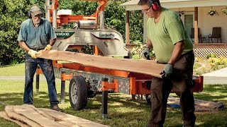 Successful Sawmilling Series - Heirloom Lumber Milled From Heritage Trees With Portable Sawmills
