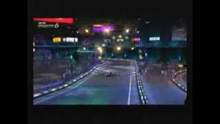 ГТ 6 карт гонки в космосі 1 трек демонстрації кіно