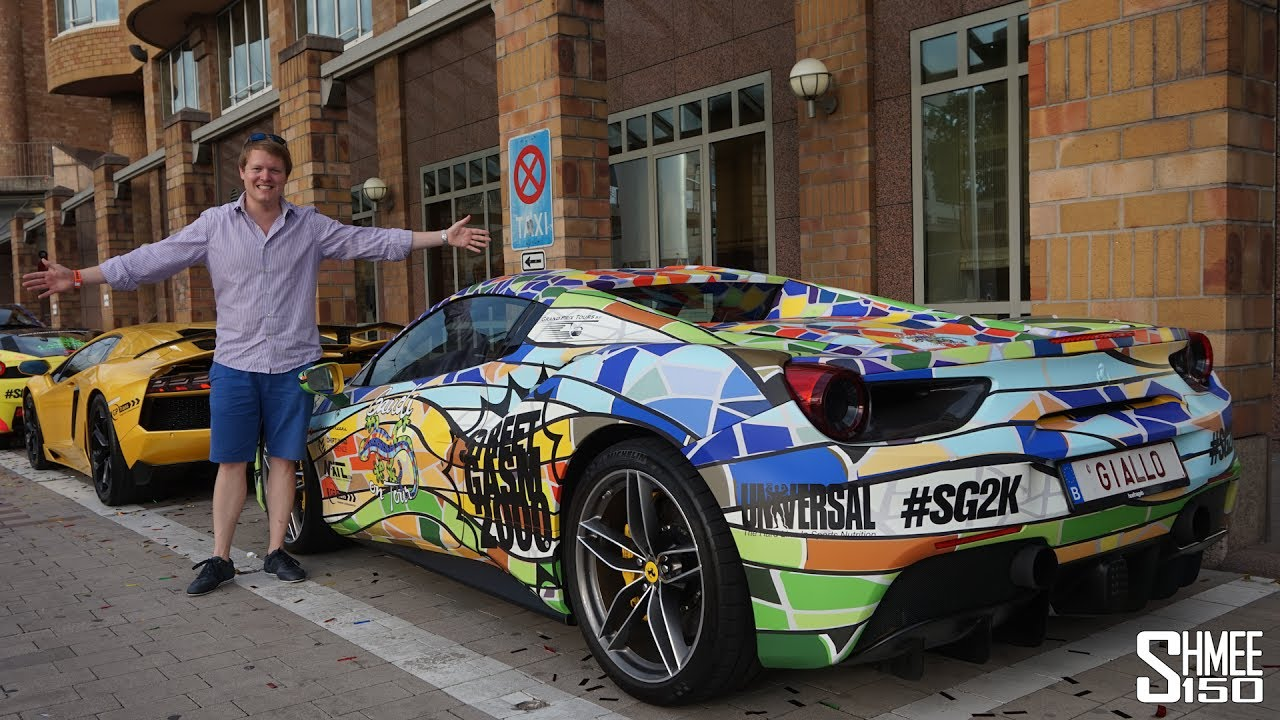 The Craziest Car Wraps In The World Youtube