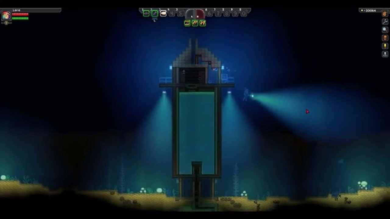 Sblora Vidmoon Starbound Wiring Latch My Underwater Base Semi Advanced And