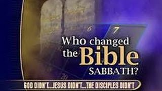 When is the True Biblical Sabbath? (1st day or 7th day)