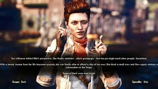 The Outer Worlds: Completed all quests + Low Intelligence + Phineas's Ending