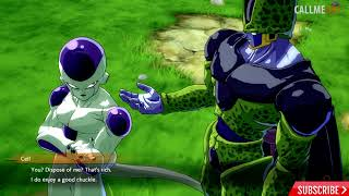 Dragon Ball FighterZ CELL and FREEZA Roast Eachother To Fight GOKU HD (PS4)