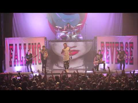 Falling In Reverse /ETF Not Good Enough For Truth In Cliche Live at The Regency Ballroom HD SF
