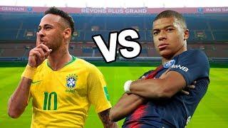 Mbappe vs Neymar Jr. Épicas Batallas de Rap del Fútbol