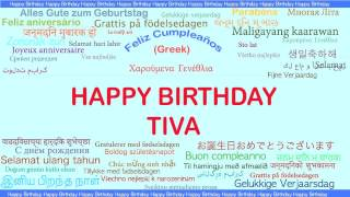 Tiva   Languages Idiomas - Happy Birthday