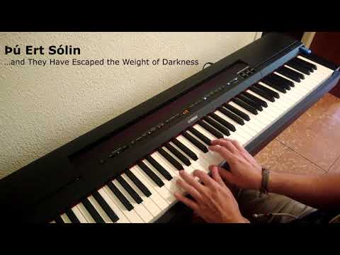 Ólafur Arnalds - Þú Ert Sólin (Piano Cover )