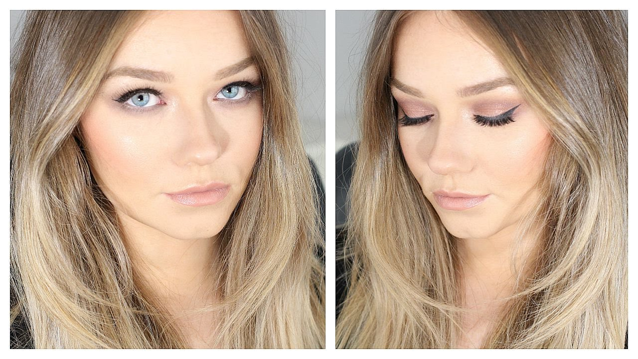 Special Occasion Event Makeup  Soft Smokey Eye Tutorial -2742