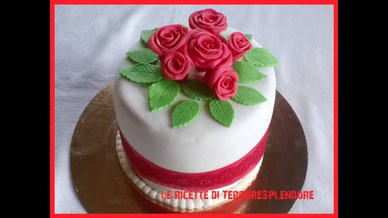 Torta Compleanno Mamma Pasta Di Zucchero.Torta In Pasta Di Zucchero Youtube