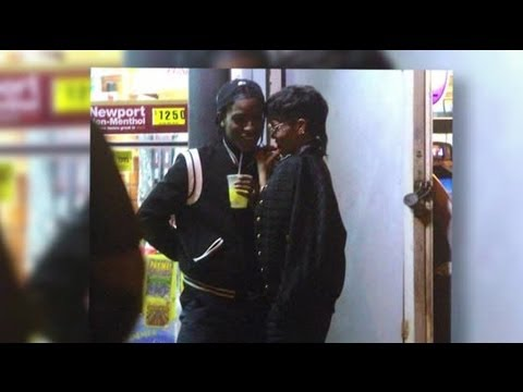 Rihanna And ASAP Rocky Get Cozy On And Off Set - Splash News | Splash News TV | Splash News TV