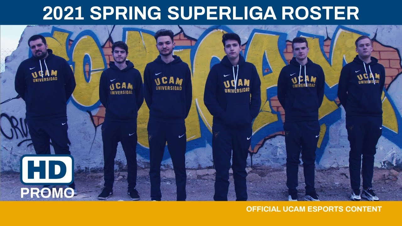 UCAM ESPORTS CLUB - Spring Split 2021 Superliga League of Legends - YouTube