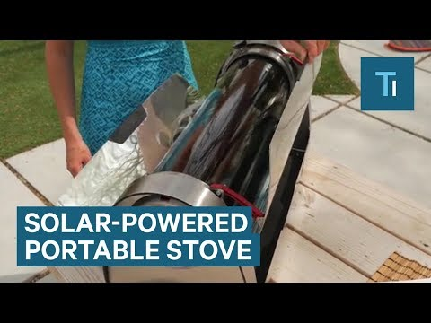 This Portable Solar Oven Can Cook Just About Anything In Minutes