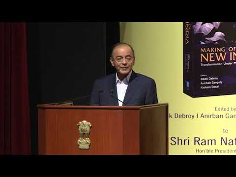 Dr  Anirban Ganguly's speech at the Book Launch of