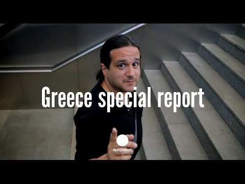 Exclusive footage: What is the real situation on the streets of Athens?