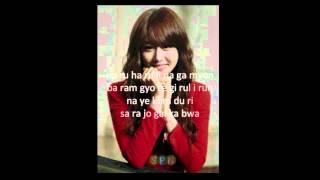 Jiyeon T-Ara Day By Day Haru Haru Lyrics Dream High 2 OST.mp3
