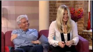 Holly Willoughby explains where turkey testicles are kept...