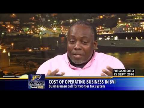 COST OF OPERATING BUSINESS IN BVI