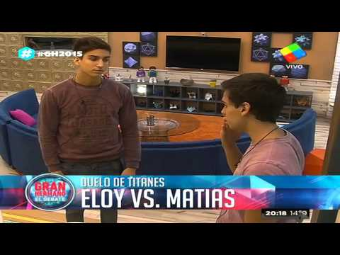 Duelo en la Casa: Eloy desafió a Matías