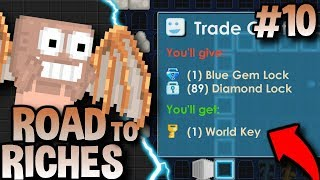 MY BIGGEST INVESTMENT EVER | Road To Riches #10 | Growtopia