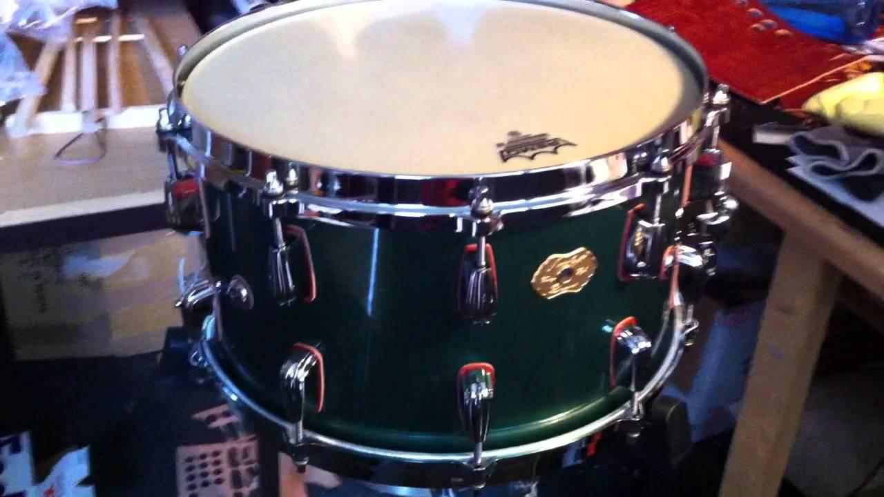 vintage style rolls royce big chief snare drum masshoff drums youtube. Black Bedroom Furniture Sets. Home Design Ideas