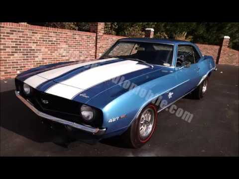 1969 Chevrolet Camaro For Sale Old Town Automobile In