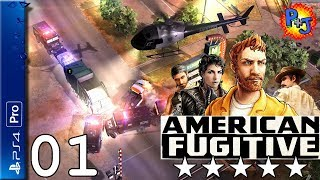 Let's Play American Fugitive PS4 Pro | Console Walkthough Gameplay Episode 1 | GTA Style Game! (P+J)