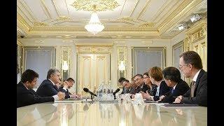 Президент закликав послів країн Великої сімки та ЄС продовжити підтримку України