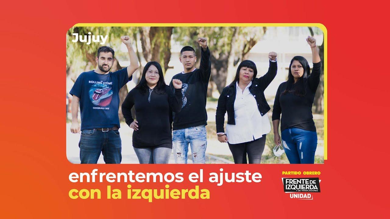 Enfrentemos el ajuste con la izquierda // En Jujuy, Ana Díaz precandidata a Diputada Nacional