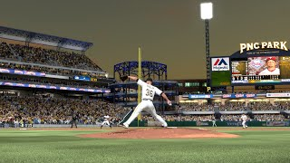 JAMESON TAILLON DEBUT!!! MLB 15 The Show (PS4) Pittsburgh Pirates Franchise Ep. 12