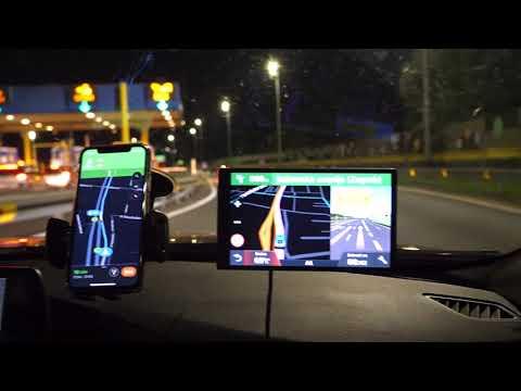 Navigacija Google Karte Vs Garmin Gps Navigacijski Uređaj Youtube