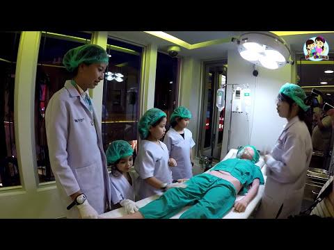เป็นหมอผ่าตัดที่  KidZania Bangkok ep7 พี่ฟิล์ม น้องฟิวส์ Happy Channel