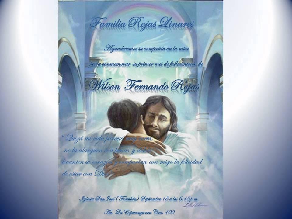 Santa Misa Para Invitaciones De Aniversario