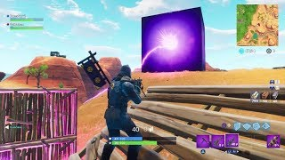 new! A SECRET CUBE appears on Fortnite: Battle Royale (Event)